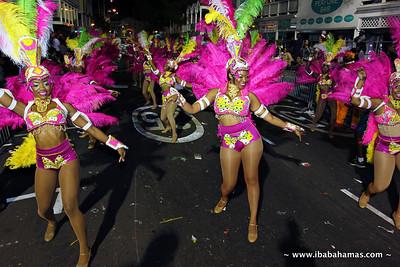 Boxing Day Junkanoo 2013 - Bay Street, Nassau, Bahamas