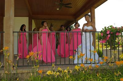 DeAnna & A.B. Wedding - Pre-ceremony Portraits
