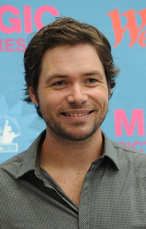 """. Michael Johns from \""""American Idol\"""", one of the judges during the talent search for the next \""""Cinderella\"""" at Culver City in Los Angeles on July 14, 2010.                (MARK RALSTON/AFP/Getty Images)"""