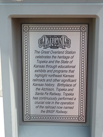 Great Overland Station - Topeka Kansas