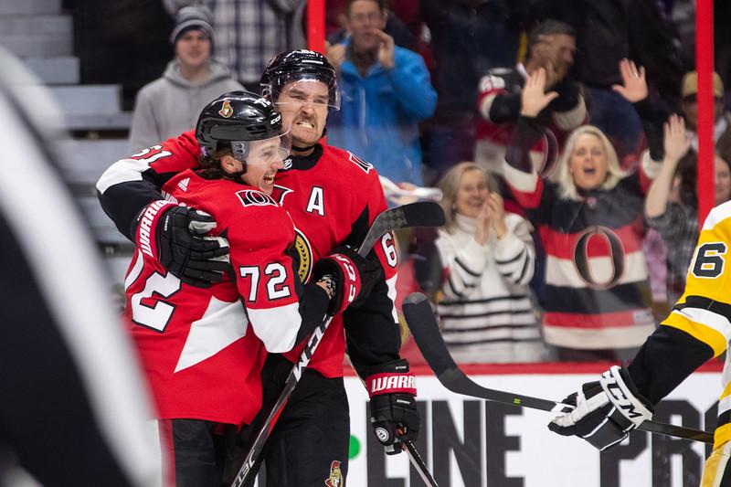 NHL 2018: Penguins vs Senators  NOV 17
