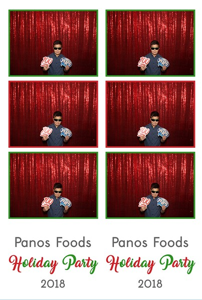Panos Foods Holiday (01/06/17)