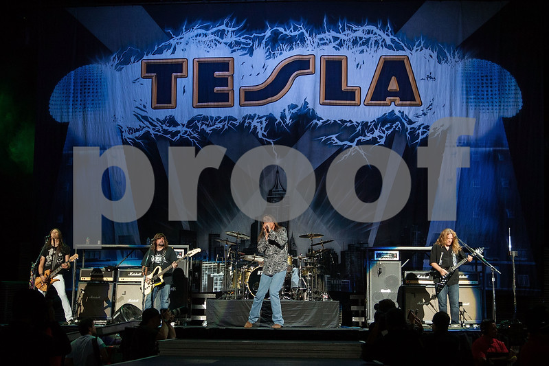 Tesla In Concert - Los Angeles, Calif