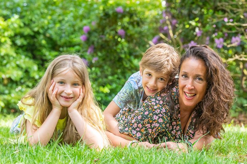 Portret Es, Jasmijn en Boas