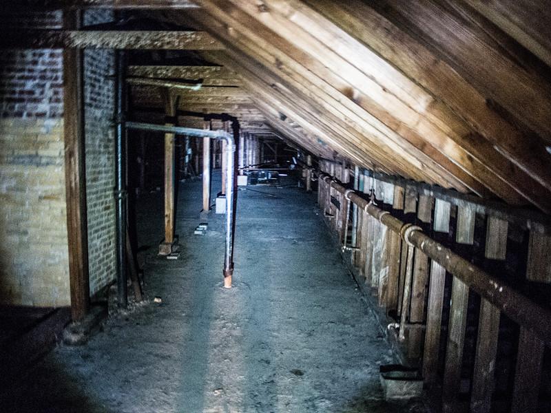 A rather long attic