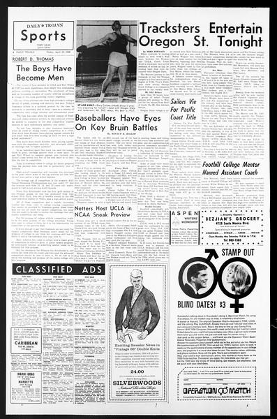 Daily Trojan, Vol. 57, No. 112, April 29, 1966
