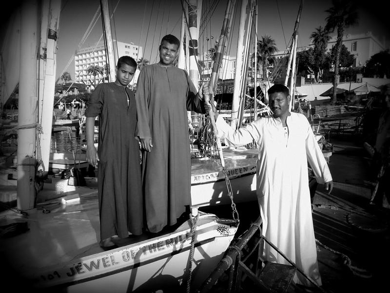 Luxor Egypt atmosphere Nov 12-14 2007