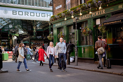 Allie & Kyle at London Borough Market in London