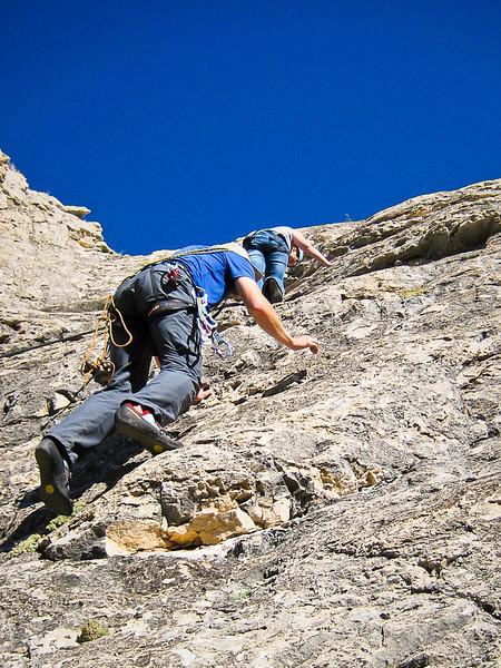 Climbing the Pryor Mountains (9.26.10)