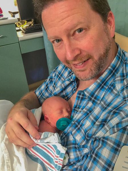 Brownlee Cash and Dad
