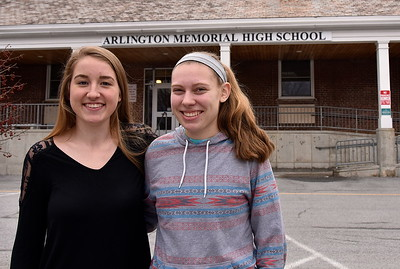 Congratulations AMHS Valedictorian Jamie Keel and Salutatorian Katheryn Berger photos by Gary Baker