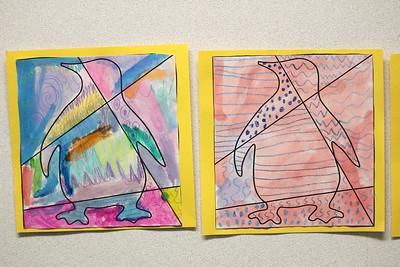 LS 1st Penguin Art 5-14-21