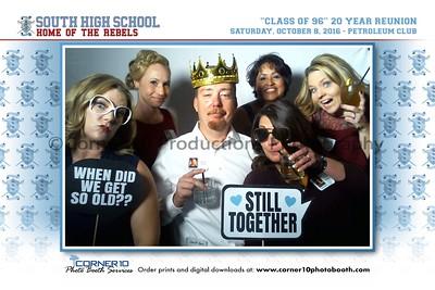 South High School 'Class of 1996' 20 Year Reunion
