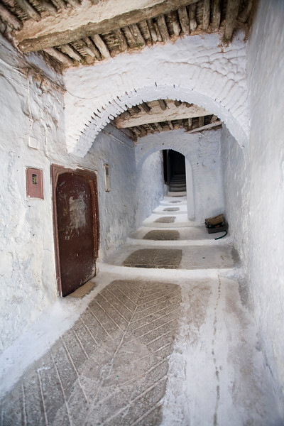 Typical alleyway in the medina, Tetouan, Morocco