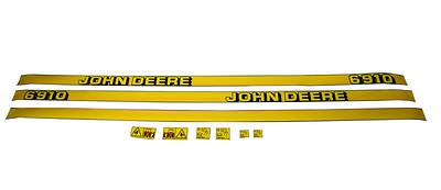 JOHN DEERE 6910 BONNET DECAL SET C11990055