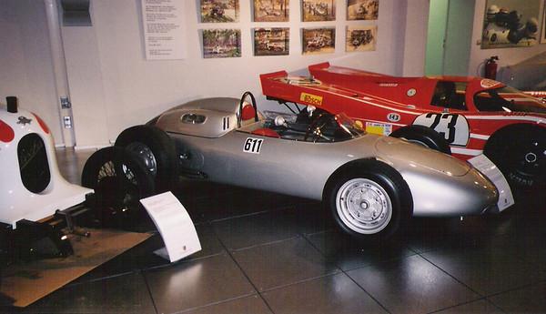 Porsche Museum - Stuttgart, Germany - September 2001