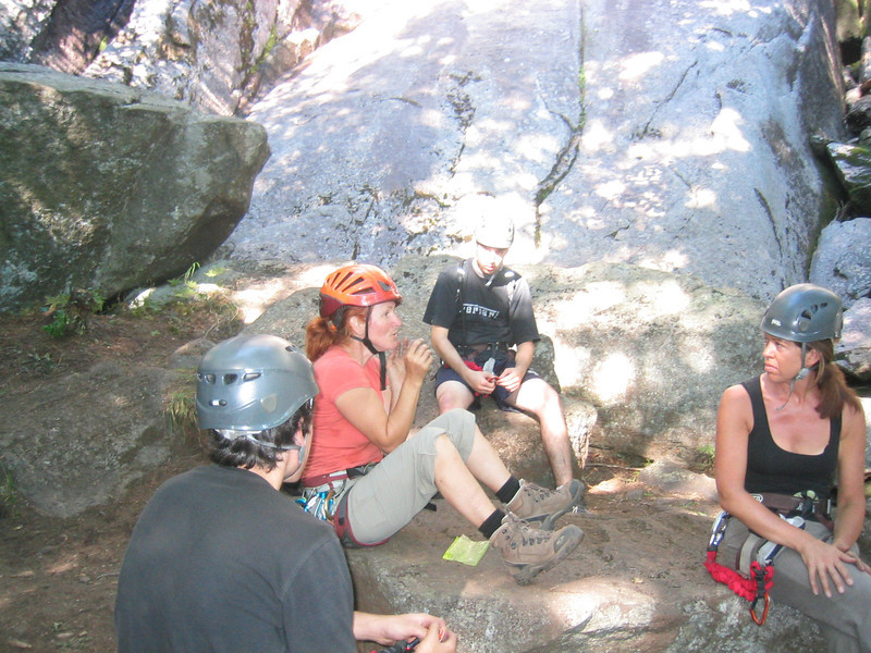 Camp Stories. Via ferrata du Diable, park national du Mont-Tremblant