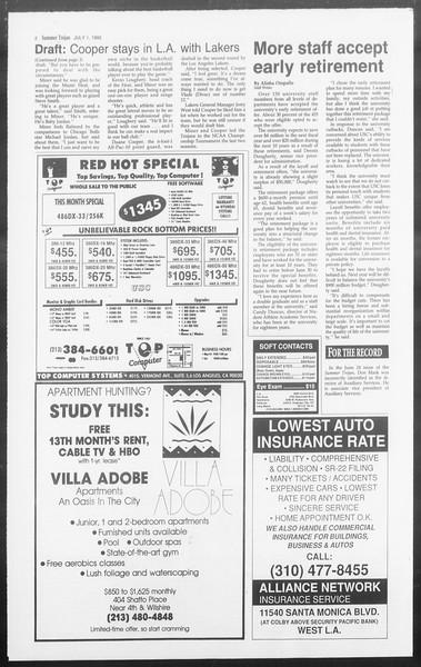 Summer Trojan, Vol. 118, No. 8, July 01, 1992