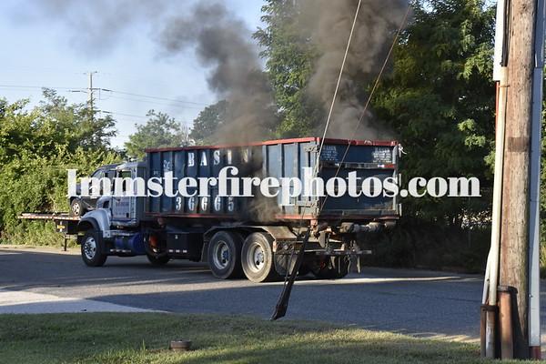 BETHPAGE FD TRUCK FIRE 8-29-15