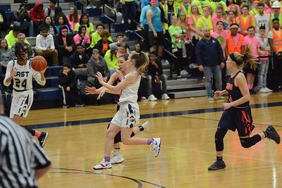 OE Varsity Girls Basketball Vs Oswego 2019