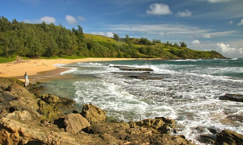 Moloa'a Bay, Kauai