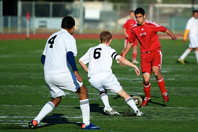 Burlingame Panthers Soccer Jan 6th 2012