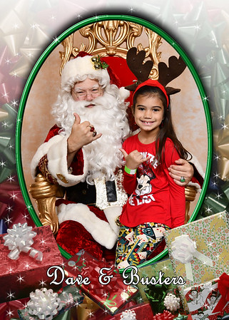 Dave & Busters Breakfast with Santa 18