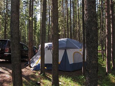 Camp at Two Jacks, Banff