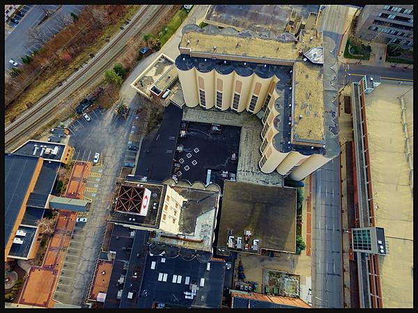 Quaker Square and Akron University