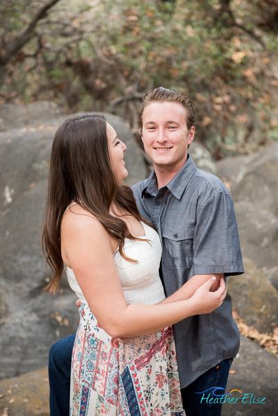 Kayleigh + Richard | Felicita Park Engagement | San Diego Wedding Photographer