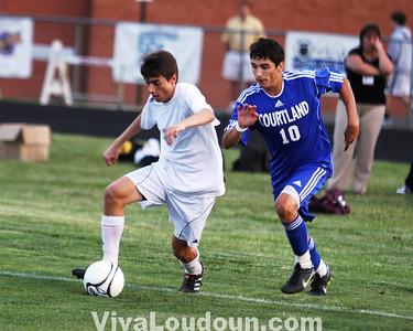 Boys Soccer: AA State Quarterfinals - Courtland vs. Broad Run (by Dan Sousa)