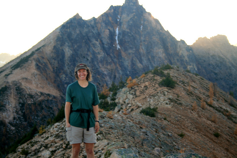 Hiker on the ridge -)