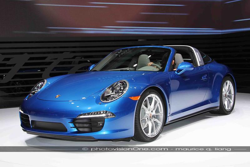 Porsche's latest rendition of the Targa.