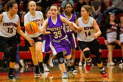 Basketball (6th & 7th Grade B Team) at Stratford, January 27