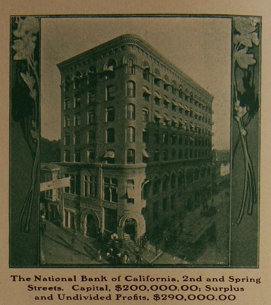 National Bank of California