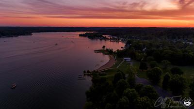 Atwood Lake Park Sunset 8-10-2019