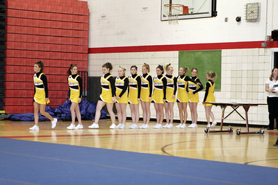 TriCounty Girls Varsity Competitive Cheer - 2006-2007 - 2/7/2007 League Meet at Fremont