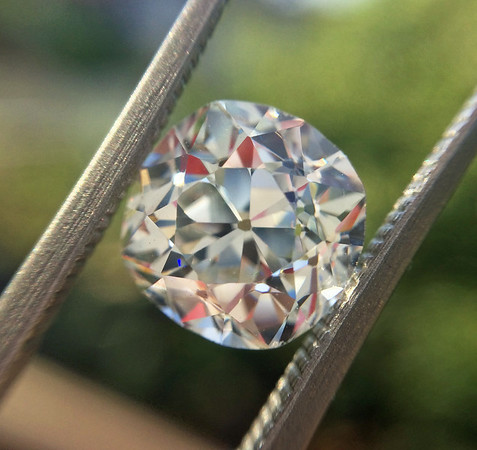 3.05ct Antique Cushion Cut Diamond, GIA K VS1