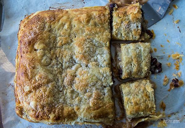 Apple-Cranberry Slab Pie - Catalog #4077