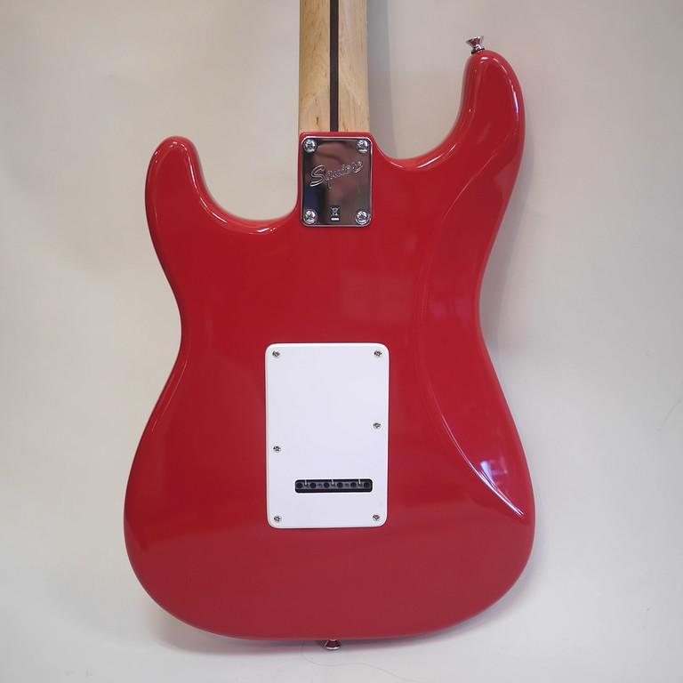 Squier Bullet Strat Electric Guitar Dakota Red