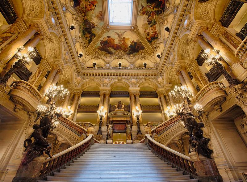 Grand Staircase of Opera Garnier