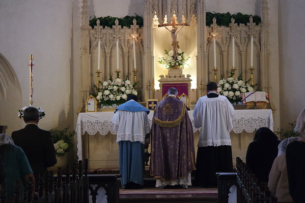 Rogation Mass and Procession (May 4, 2016)