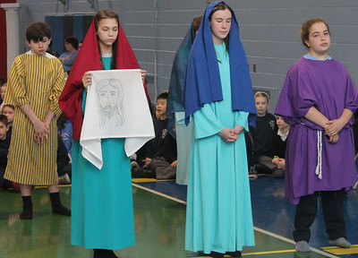 PHOTOS: Saint Andrew School presents Stations of the Cross in Newtown