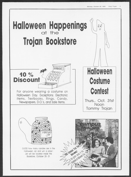 Daily Trojan, Vol. 100, No. 40, October 28, 1985