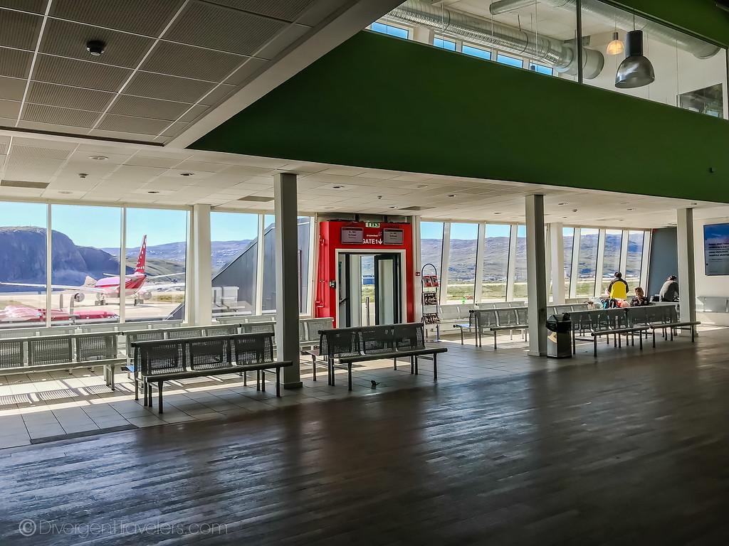 Kangerlussuaq Greenland Airport - Lina Stock