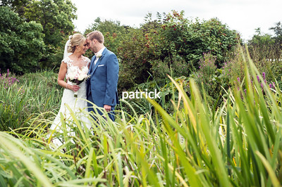 Claire and Adam at Priory Barn, Little Wymondley