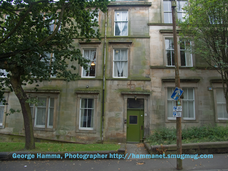 Gibson Street student apartments at the University of Glasgow
