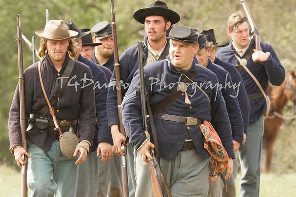 Ft. Blakely, Alabama Battle for the Fort, 2019