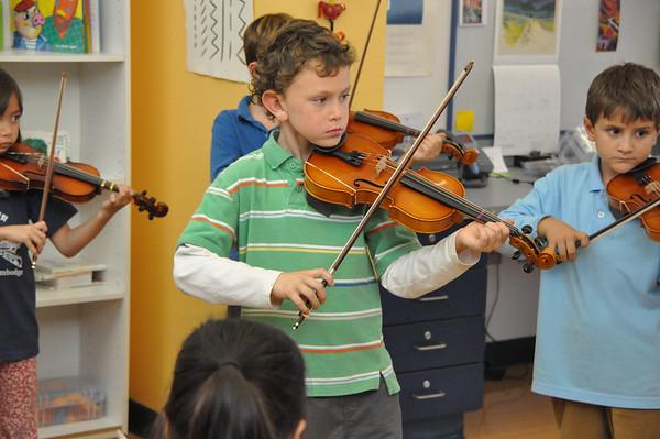 Impressive Start for Suzuki Violinists