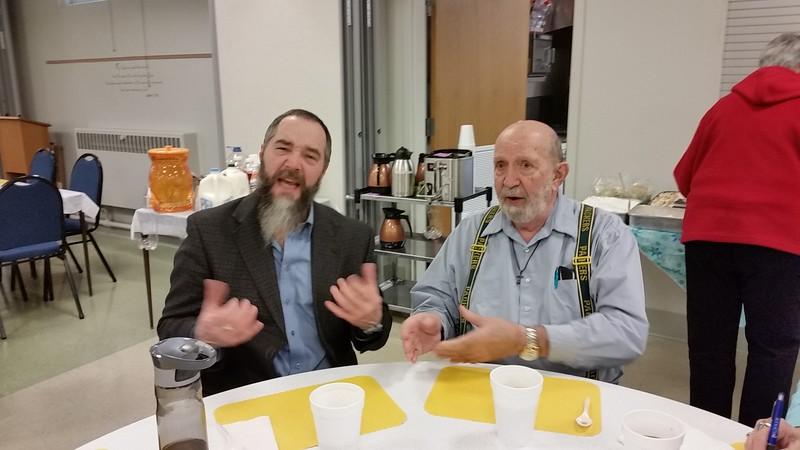 Chuck and Eddie Henning